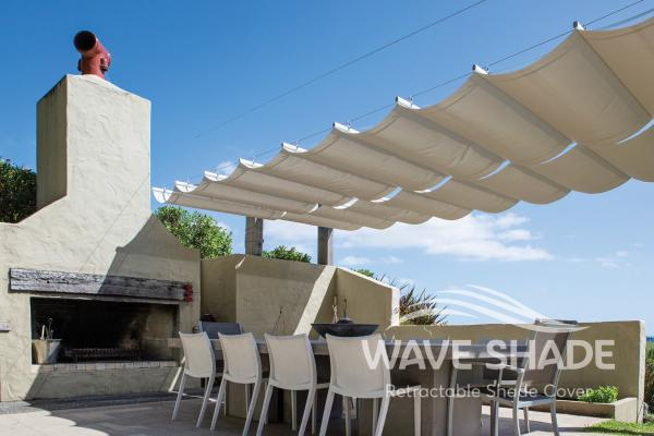 Wave Shade Retractable Shade Cover 2