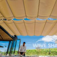 Wave Shade Retractable Shade Cover 4